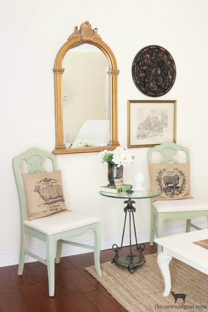Milk-Paint-to-Chalk-Paint-Chair-Makeover-The-Crowned-Goat-11 Milk Paint to Chalk Paint Chair Makeover Painted Furniture