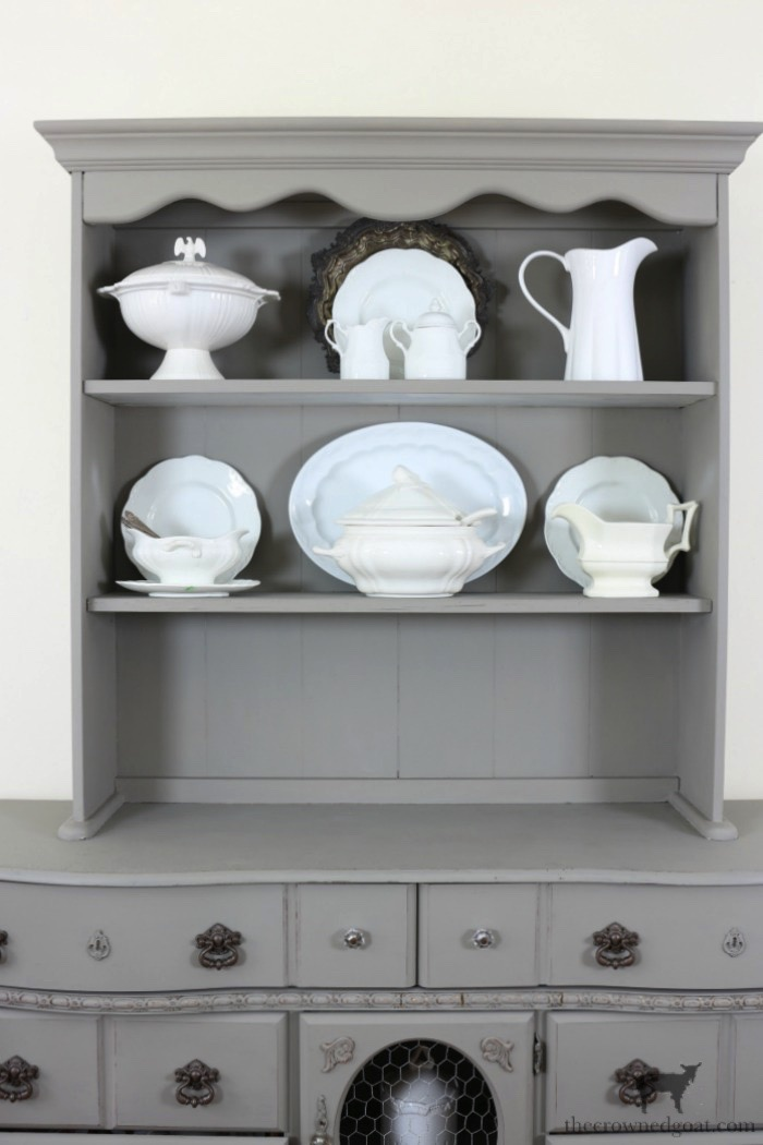 Tips-for-Styling-a-Dining-Room-Hutch-The-Crowned-Goat-11 Eight Easy Tips for Styling a Dining Room Hutch Decorating Loblolly_Manor