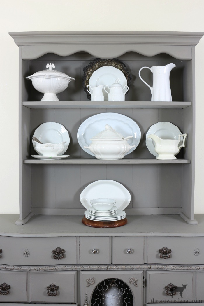 Tips-for-Styling-a-Dining-Room-Hutch-The-Crowned-Goat-13-copy Eight Easy Tips for Styling a Dining Room Hutch Decorating Loblolly_Manor
