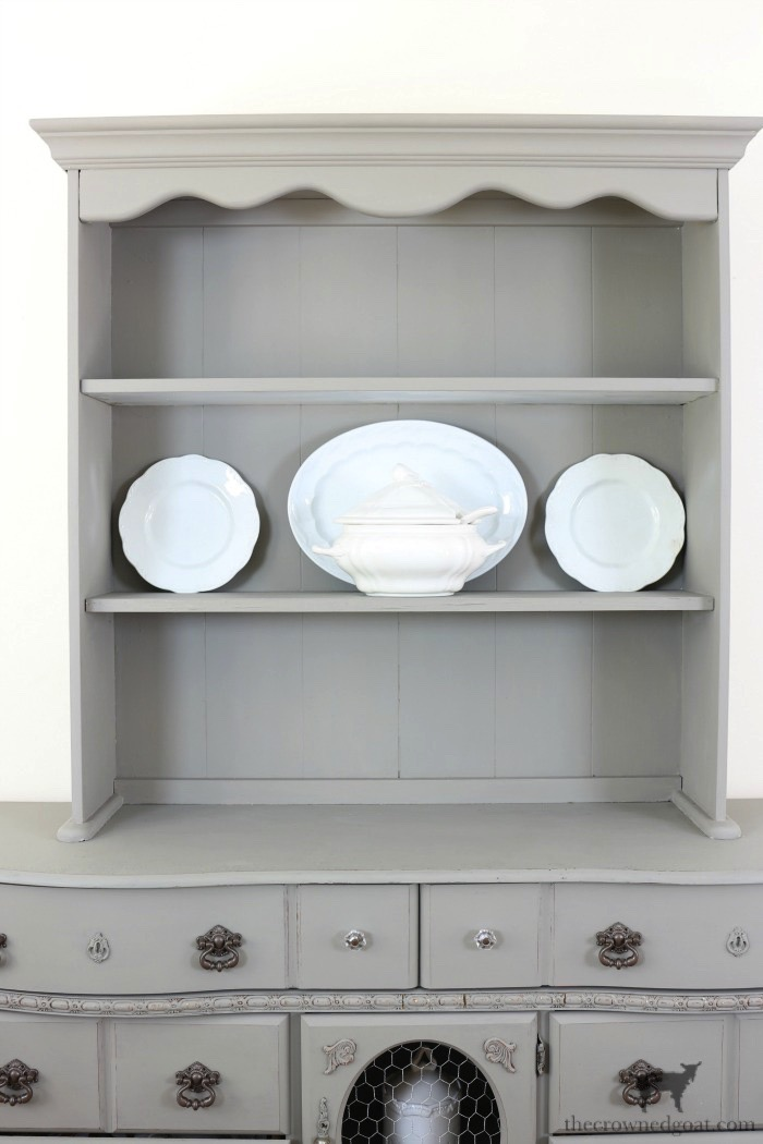 Tips-for-Styling-a-Dining-Room-Hutch-The-Crowned-Goat-6 Eight Easy Tips for Styling a Dining Room Hutch Decorating Loblolly_Manor