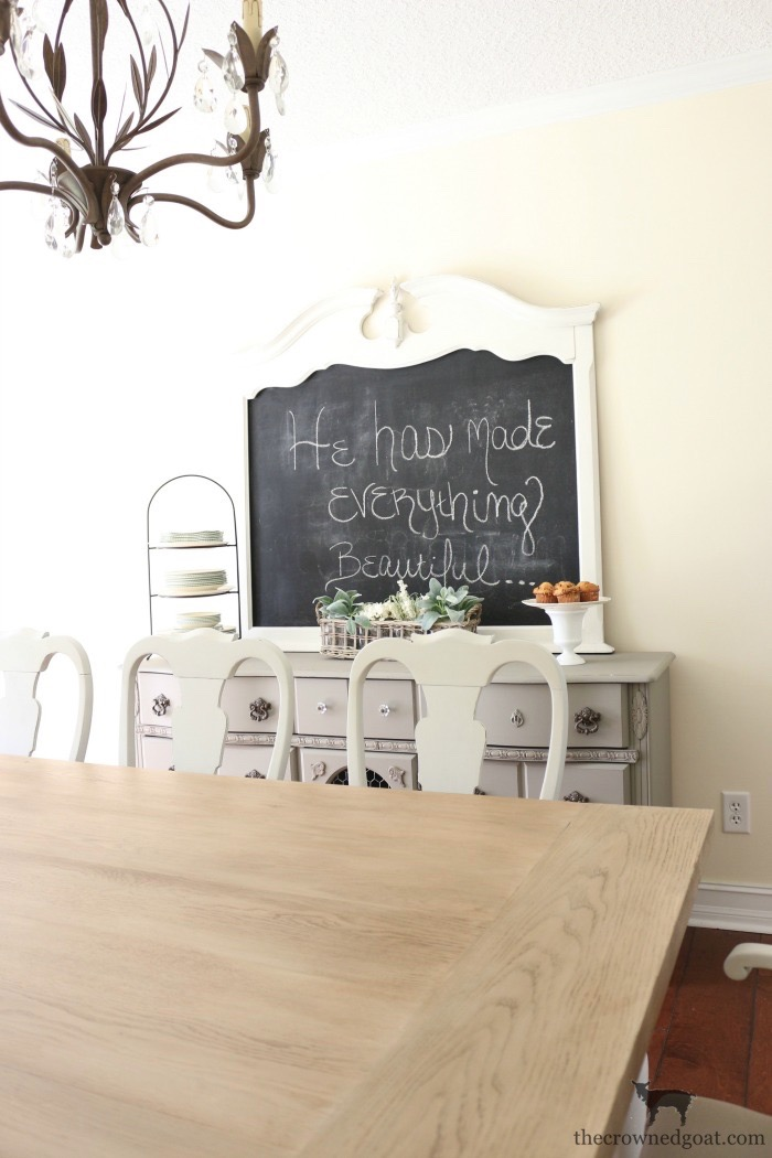 Creating-a-Chalkboard-From-a-Mirror-The-Crowned-Goat-4 Creating a Chalkboard from a Mirror Decorating Loblolly_Manor