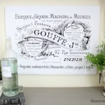 French-Inspired-Laundry-Room-Art-The-Crowned-Goat-1 Loblolly Manor