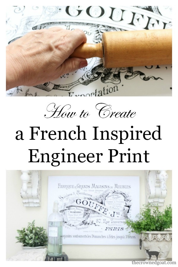 French-Inspired-Laundry-Room-Art-The-Crowned-Goat-10 French Inspired Laundry Room Art Loblolly_Manor One_Room_Challenge