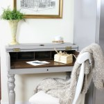 Loblolly Manor: Adding a Desk to the Kitchen