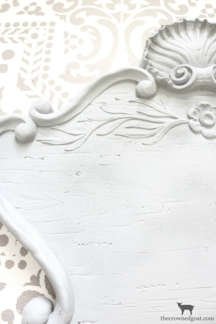 DIY-French-Inspired-Wall-Plaque-The-Crowned-Goat-7 French Inspired Wall Plaque Decorating DIY Loblolly_Manor