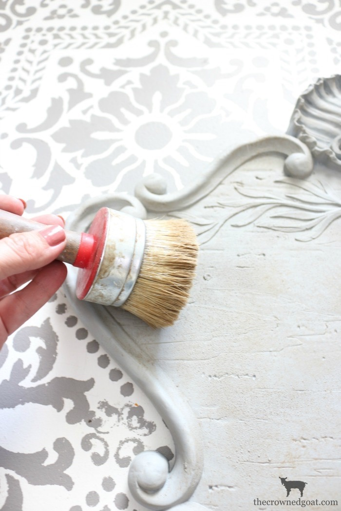 DIY-French-Inspired-Wall-Plaque-The-Crowned-Goat-9 French Inspired Wall Plaque Decorating DIY Loblolly_Manor