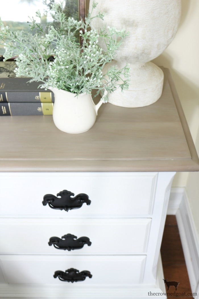 French-Linen-and-Pure-White-Painted-Nightstands-The-Crowned-Goat-19 Loblolly Manor: Guest Bedroom Nightstands Decorating Loblolly_Manor Painted Furniture