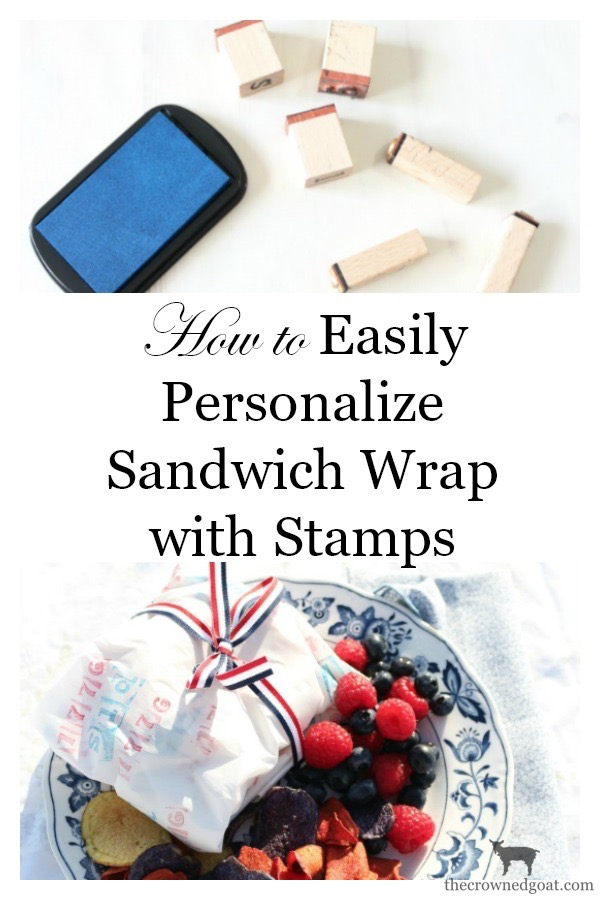 How-to-Stamp-Parchment-Paper-The-Crowned-Goat-3 Hungry Hippies and DIY Stamped Sandwich Wrap Summer