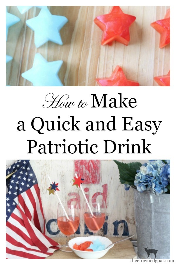 Quick-Easy-Patriotic-Drink-Idea-The-Crowned-Goat-16 How to Make a Quick & Easy Patriotic Drink Summer