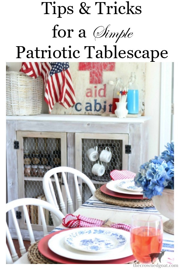 Tips-for-an-Easy-Patriotic-Tablescape-The-Crowned-Goat-16 Tips & Tricks for Patriotic Tablescapes Summer