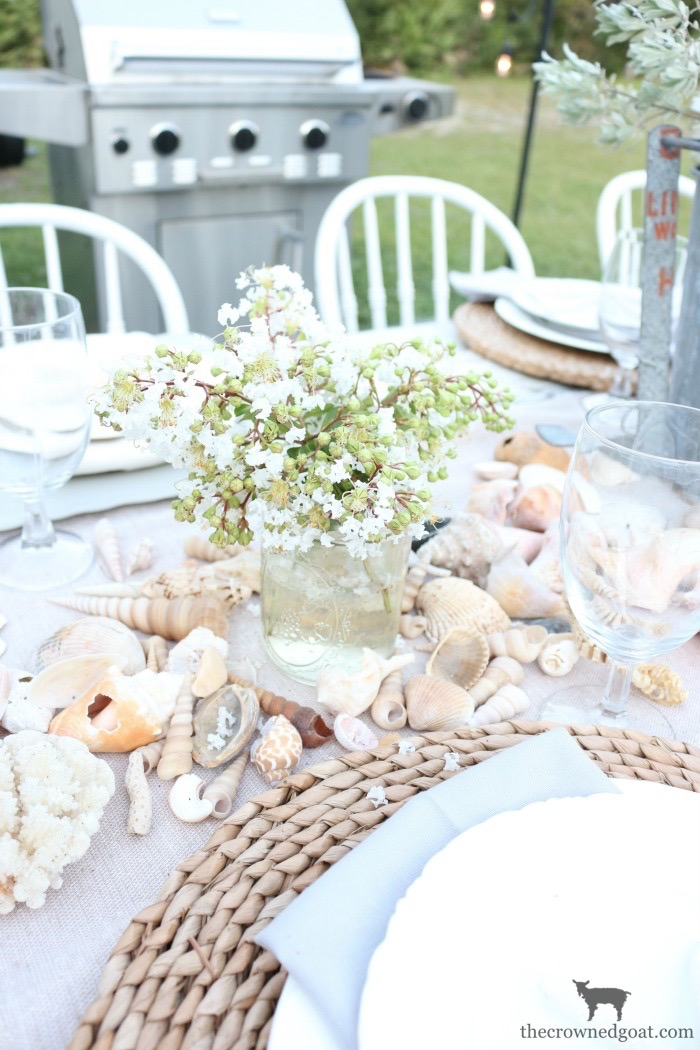 Coastal-Inspired-Tablescape-The-Crowned-Goat-10 Coastal Inspired Tablescape Decorating Summer