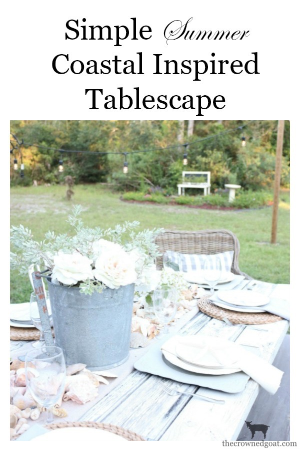 Coastal-Inspired-Tablescape-The-Crowned-Goat-16 Coastal Inspired Tablescape Decorating Summer