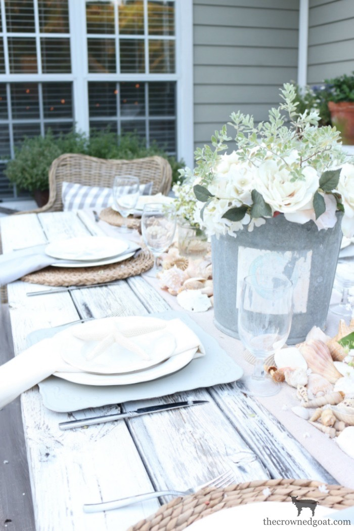 Coastal-Inspired-Tablescape-The-Crowned-Goat-5 Coastal Inspired Tablescape Decorating Summer