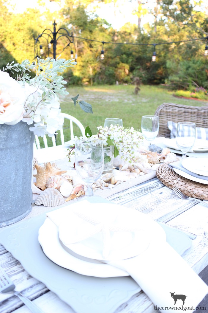 Coastal-Inspired-Tablescape-The-Crowned-Goat-6-1 Coastal Inspired Tablescape Decorating Summer