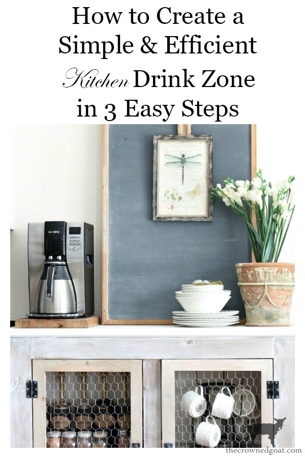 Create-a-simple-efficient-kitchen-drink-zone-in-three-easy-steps-The-Crowned-Goat-15 A Simple & Efficient Drink Zone in 3 Easy Steps DIY Organization