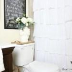 Loblolly Manor: Tiny Guest Bathroom Makeover