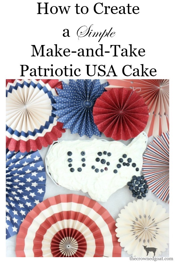 Patriotic-USA-Cake-The-Crowned-Goat-14a A Simple Patriotic USA Cake Baking