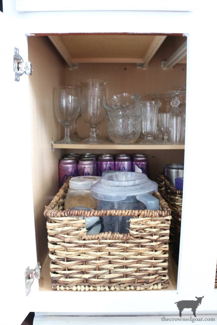 simple-smoothie-station-basket-in-three-steps-The-Crowned-Goat-12 A Simple & Efficient Drink Zone in 3 Easy Steps DIY Organization