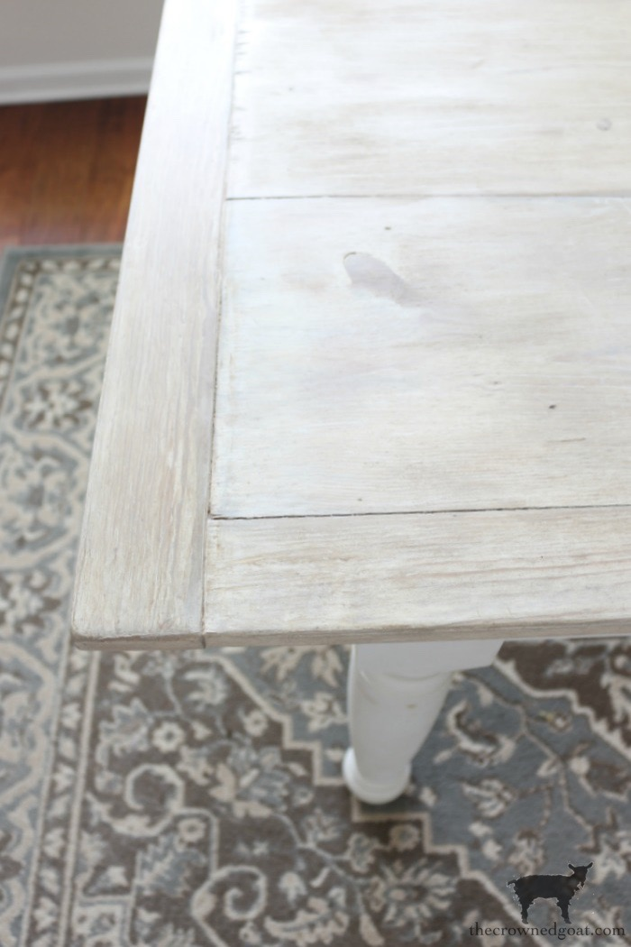Breakfast-Nook-Table-Makeover-The-Crowned-Goat-16 Breakfast Nook Table Makeover DIY Painted Furniture
