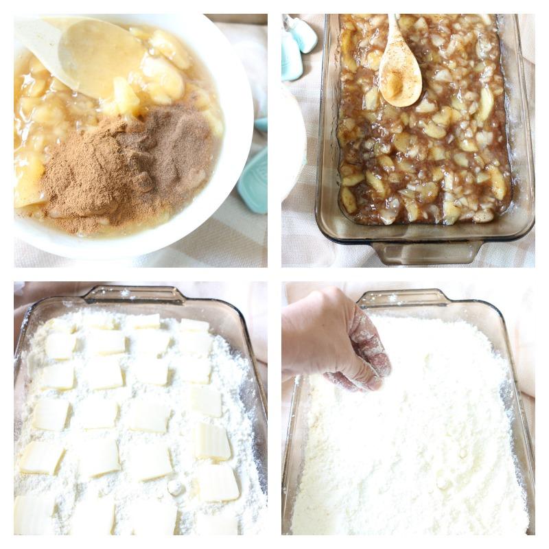Easy-Salted-Caramel-Apple-Dump-Cake-The-Crowned-Goat-7 The Easiest Salted Caramel Apple Dump Cake Baking
