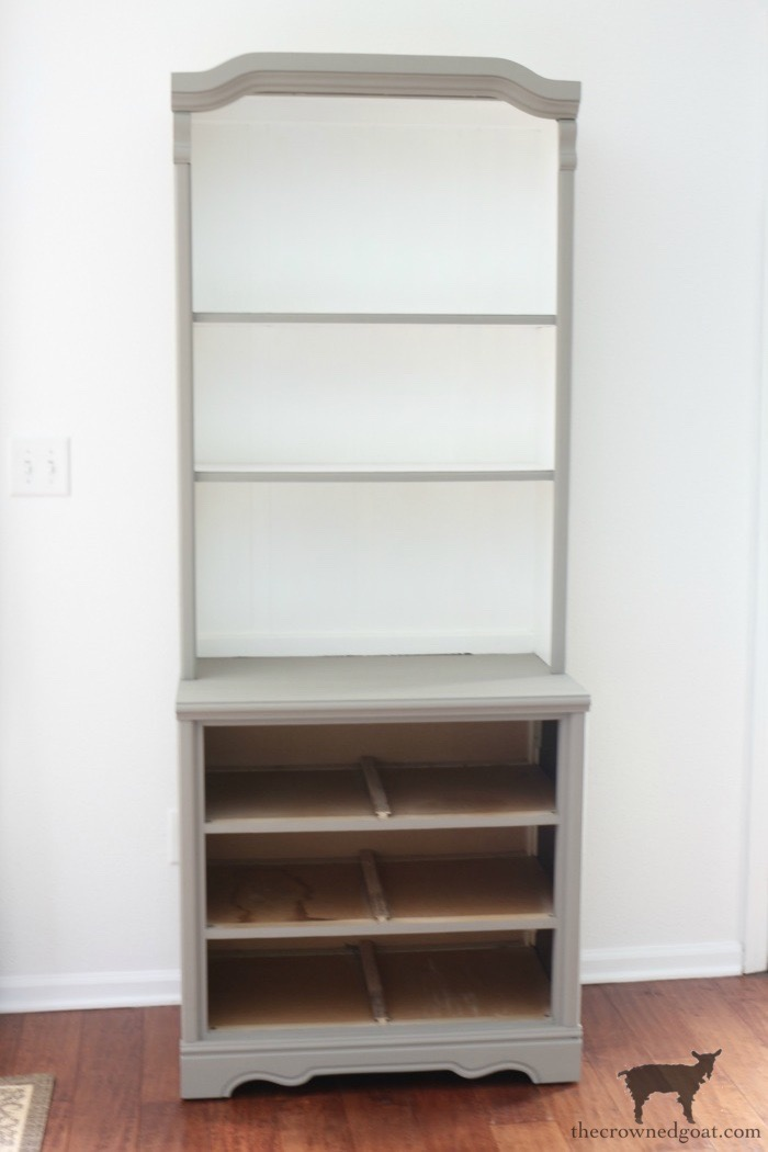 French-Linen-Hutch-Makeover-The-Crowned-Goat-10 French Linen Hutch Makeover DIY Painted Furniture