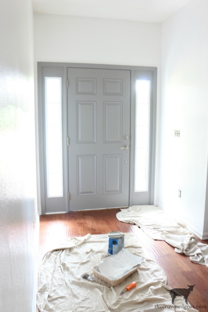 Simple-Door-Painting-Tips-The-Crowned-Goat-14 Simple Tips for Painting Interior Doors DIY