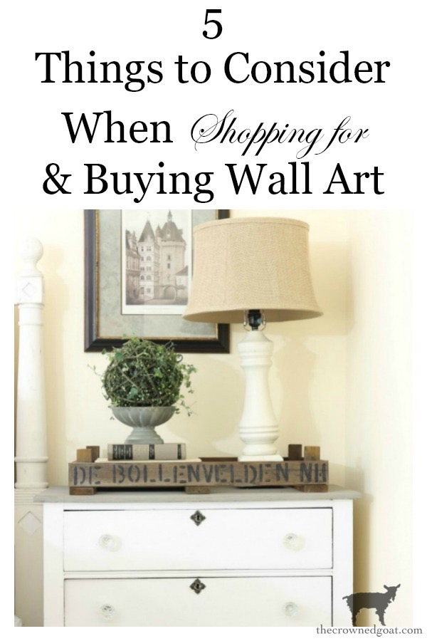 Things-to-Consider-When-Buying-Wall-Art-The-Crowned-Goat-9 5 Things to Consider When Buying Wall Art Decorating