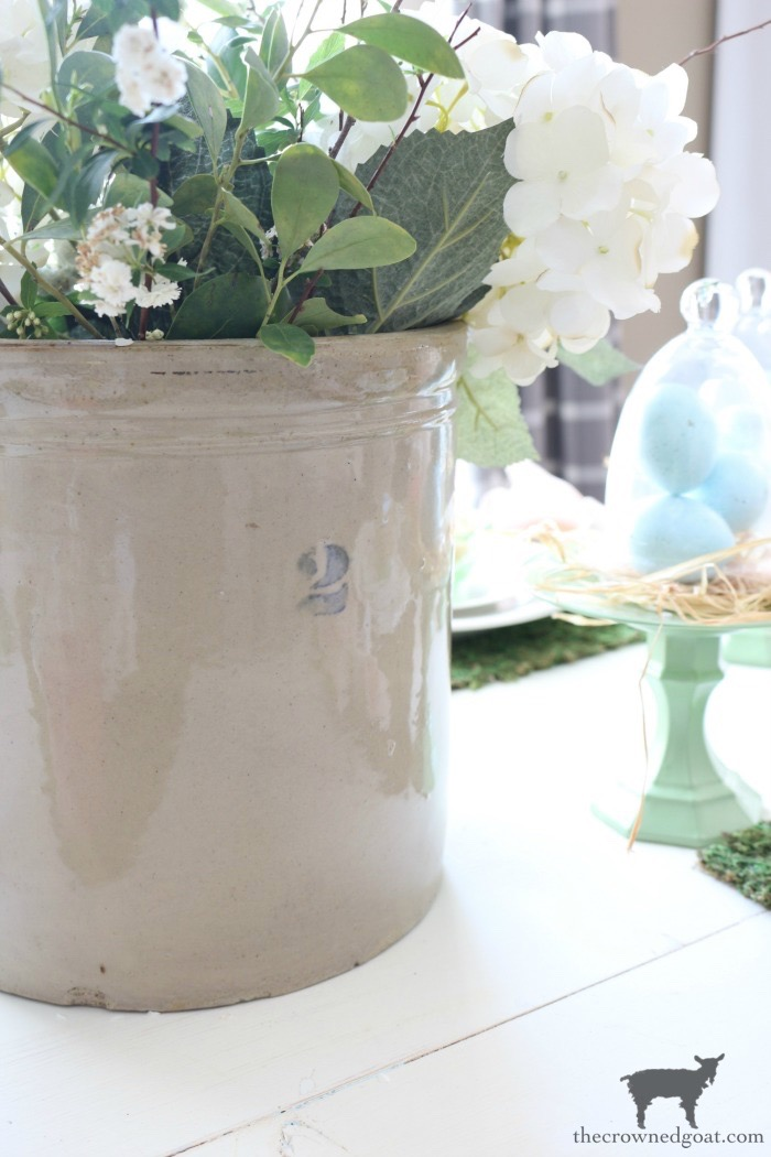 Colorful-Easter-Tablescape-12 How to Create Crock Inspired Paint Cans Decorating DIY Fall Holidays Spring Summer