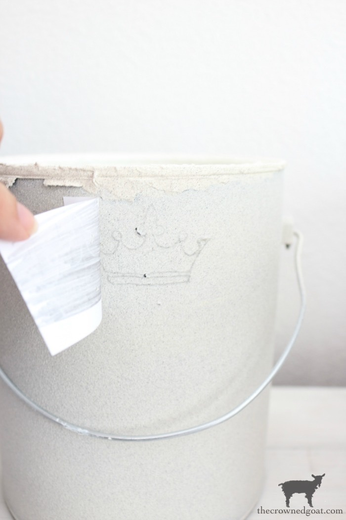 Crock-Inspired-Paint-Cans-The-Crowned-Goat-12 How to Create Crock Inspired Paint Cans Decorating DIY
