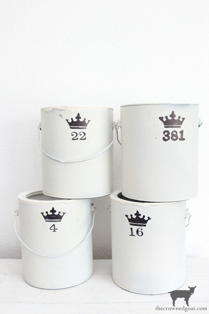 Crock-Inspired-Paint-Cans-The-Crowned-Goat-14 How to Create Crock Inspired Paint Cans Decorating DIY