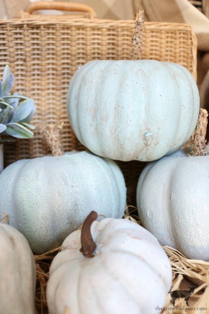 DIY-Jarrahdale-Pumpkins-The-Crowned-Goat-2 Make Your Own Heirloom Pumpkins Crafts DIY Fall