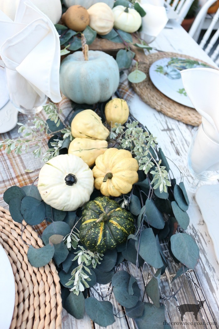 Fall-Inspired-Outdoor-Tablescape-The-Crowned-Goat-2 Fall Inspired Outdoor Tablescape Decorating DIY Fall
