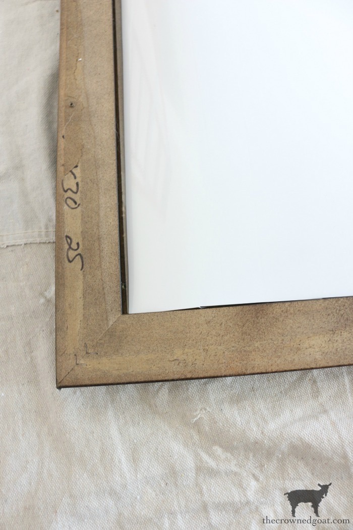 How-to-Frame-a-Poster-The-Crowned-Goat-11 An Inexpensive Way to Frame a Poster or Print Decorating DIY