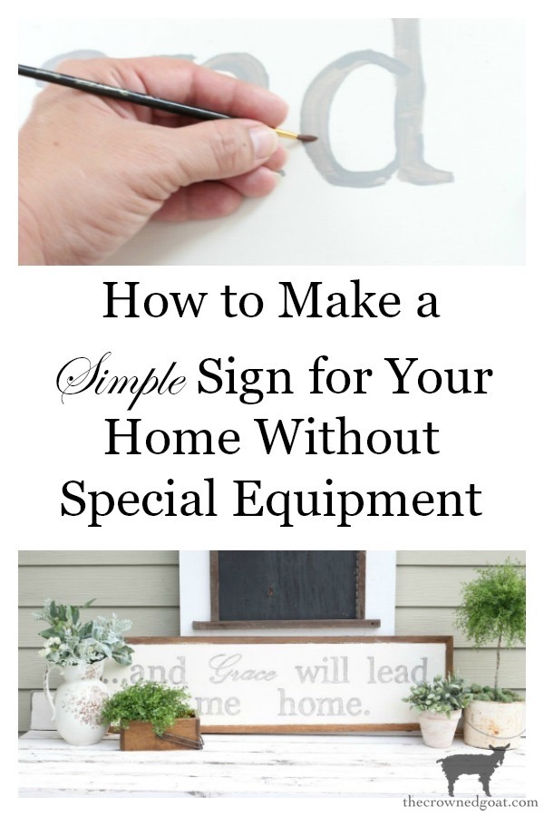 How-to-Make-a-Sign-The-Crowned-Goat-15 The Easiest Way to Make a Sign Decorating DIY