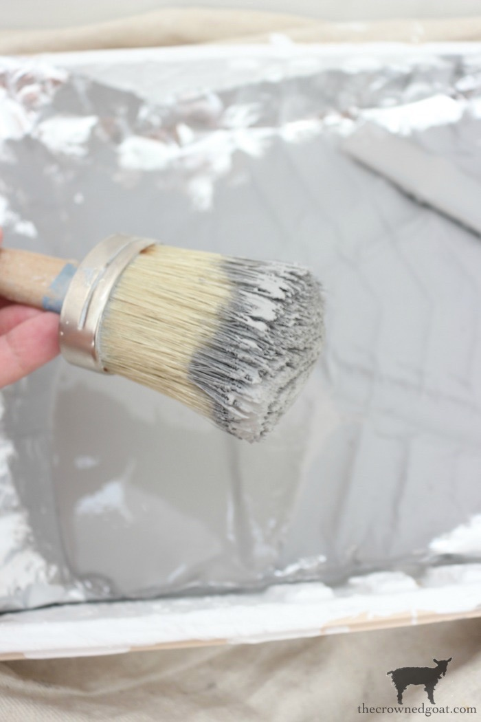 How-to-Stencil-Textured-Walls-The-Crowned-Goat-12 How to Stencil Textured Walls DIY One_Room_Challenge