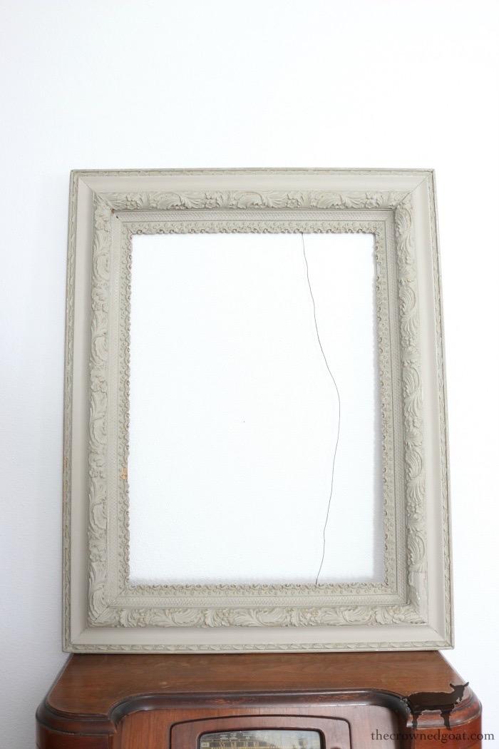 Antique-Picture-Frame-Advent-Calendar-The-Crowned-Goat-6 Antique Picture Frame Advent Calendar Christmas DIY