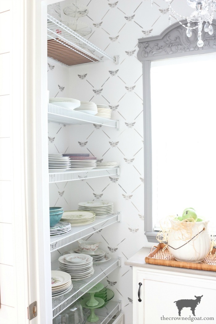 One-Room-Challenge-Pantry-Makeover-Reveal-The-Crowned-Goat-10 ORC: Pantry and Kitchen Makeover Reveal Decorating DIY One_Room_Challenge