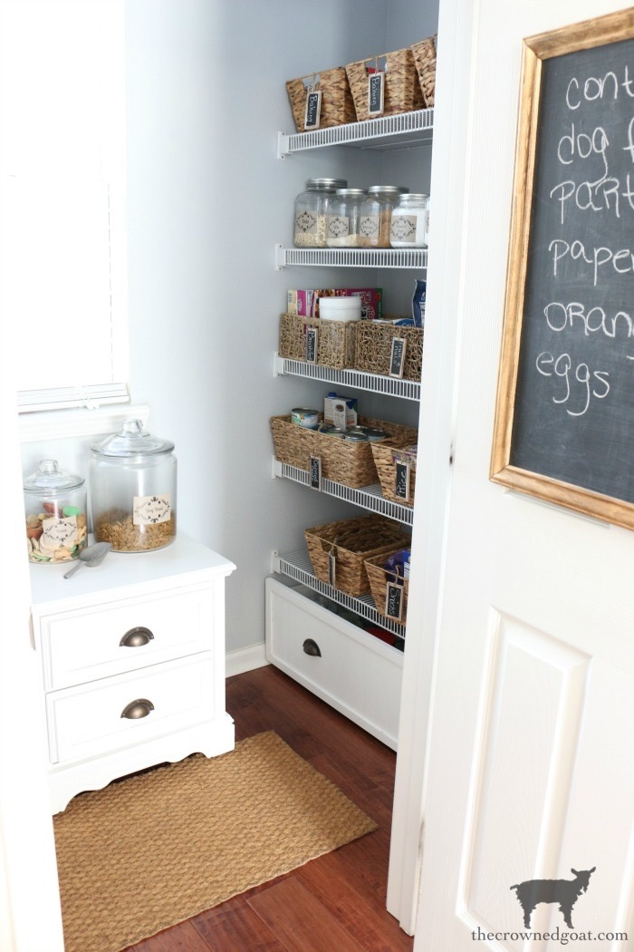 One-Room-Challenge-Pantry-Makeover-Reveal-The-Crowned-Goat-11 ORC: Pantry and Kitchen Makeover Reveal Decorating DIY One_Room_Challenge