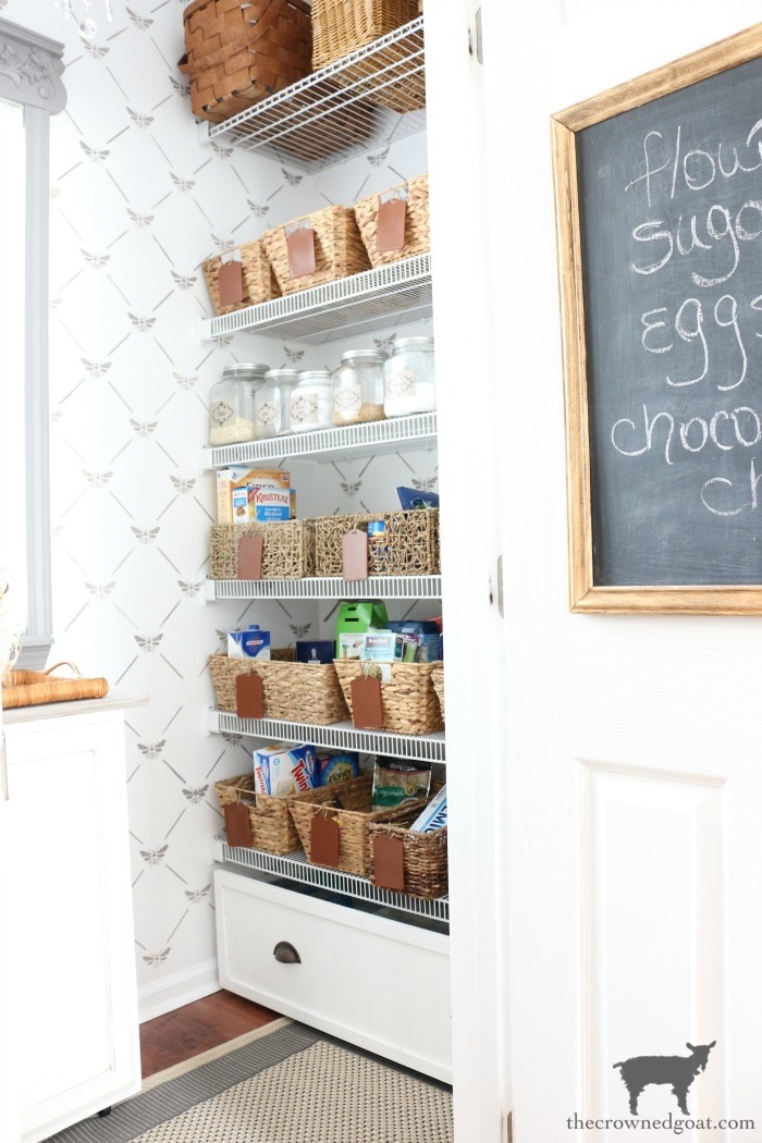 One-Room-Challenge-Pantry-Makeover-Reveal-The-Crowned-Goat-12B ORC: Pantry and Kitchen Makeover Reveal Decorating DIY One_Room_Challenge
