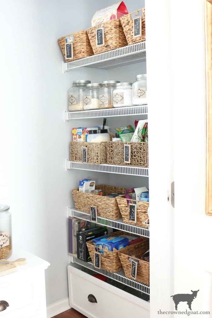 One-Room-Challenge-Pantry-Makeover-Reveal-The-Crowned-Goat-2 ORC: Pantry and Kitchen Makeover Reveal Decorating DIY One_Room_Challenge