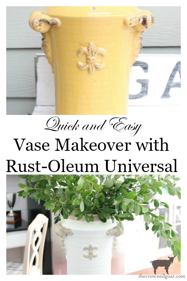 Quick-and-Easy-Vase-Makeover-The-Crowned-Goat-11 Quick & Easy Vase Makeover Decorating DIY