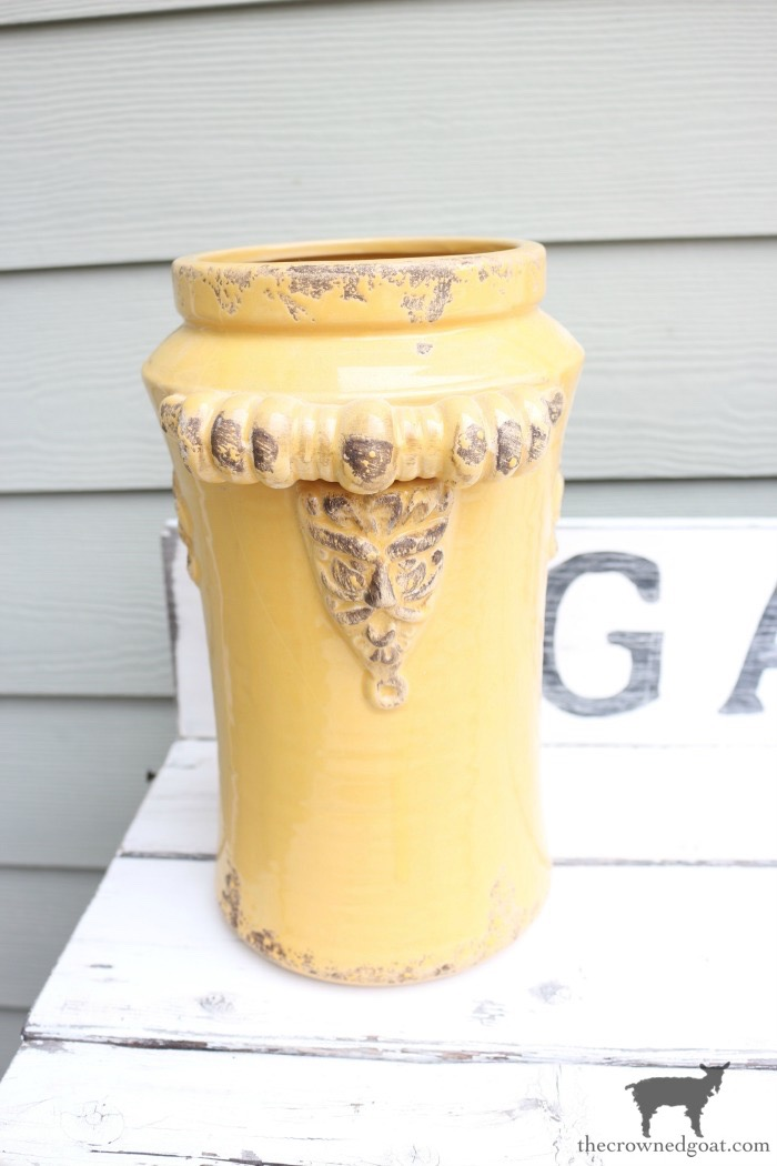 Quick-and-Easy-Vase-Makeover-The-Crowned-Goat-2 Quick & Easy Vase Makeover Decorating DIY