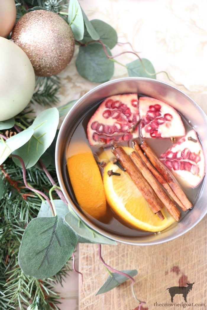 Orange-Pomegranate-Cider-Simmer-Pot-The-Crowned-Goat-5 Orange Pomegranate Cider Simmer Pot Christmas Holidays