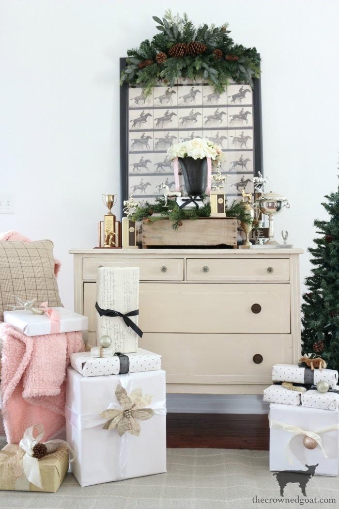 Romantic-Farmhouse-Christmas-Home-Tour-The-Crowned-Goat-8 A Christmas Message & Holiday Home Tour Christmas Holidays