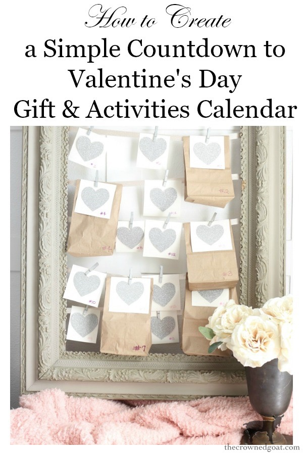 Countdown-to-Valentines-Day-Calendar-The-Crowned-Goat-14 Countdown to Valentine's Day Calendar Crafts Valentines