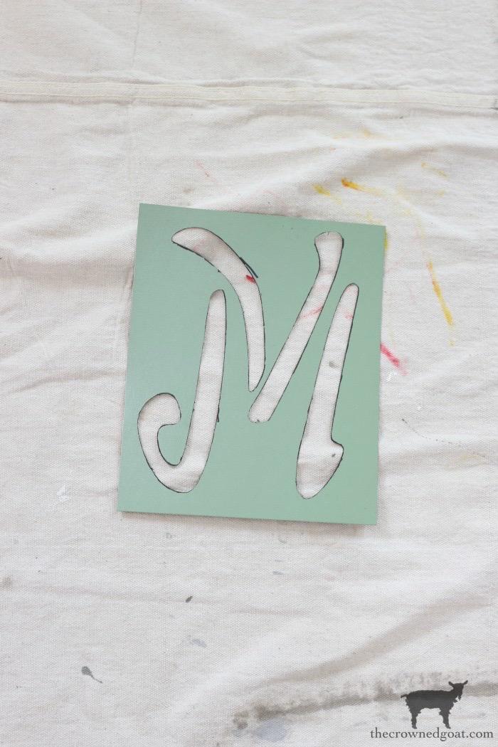 DIY-Monogrammed-Tote-The-Crowned-Goat-7 DIY Monogrammed Market Tote Crafts DIY
