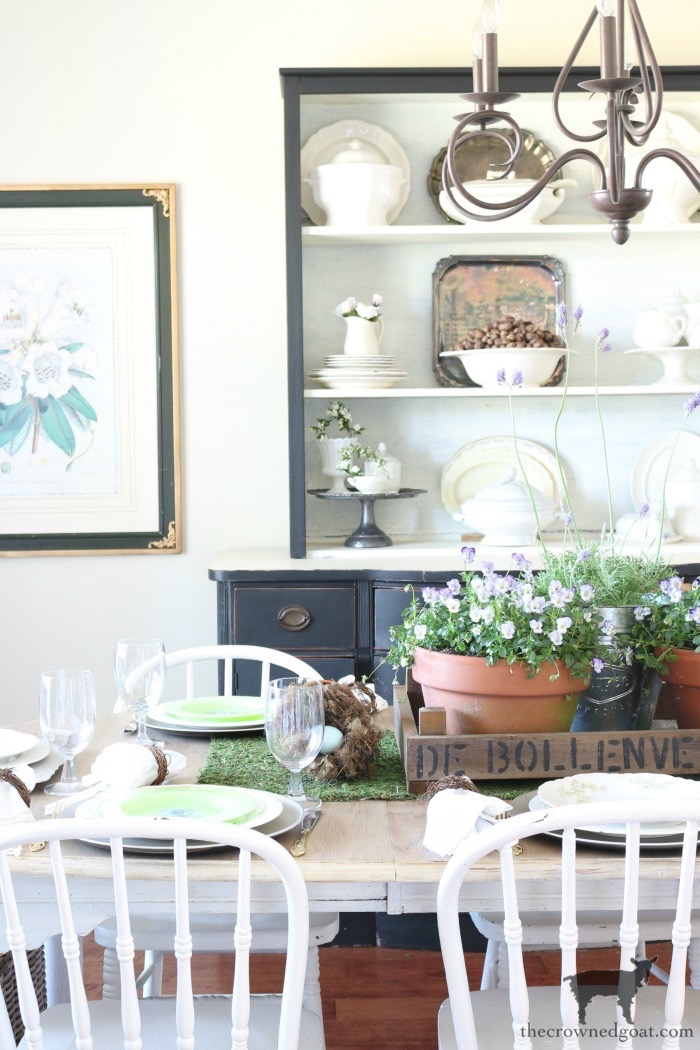 Home-Goals-Dining-Room-The-Crowned-Goat-6 2019 Home Goals Decorating DIY Organization