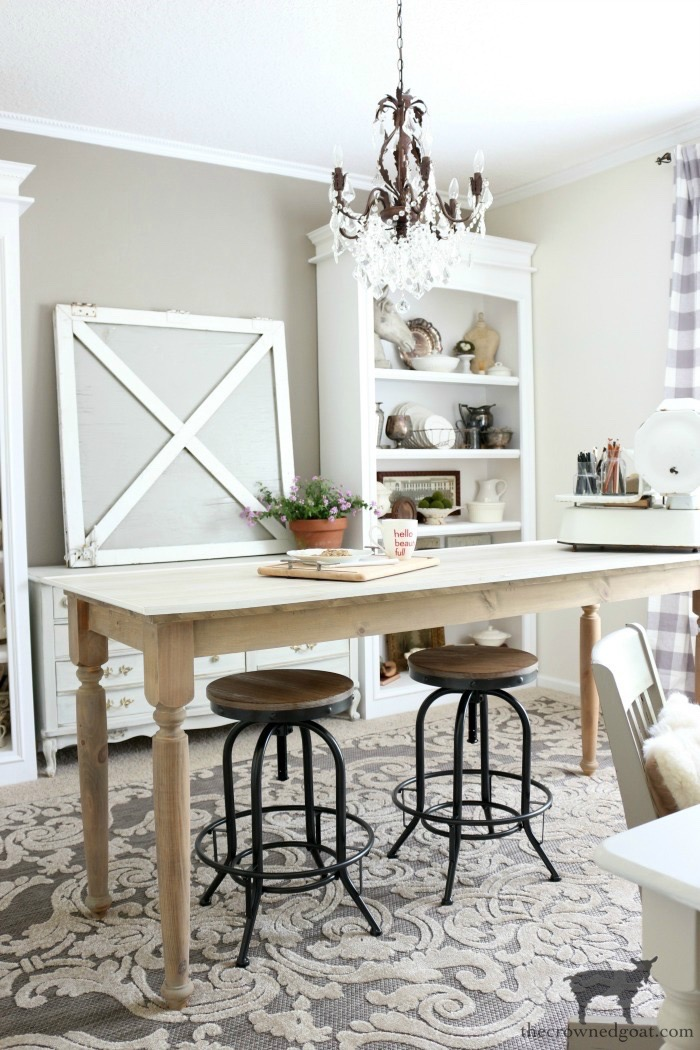 Home-Goals-Office-The-Crowned-Goat-13 2019 Home Goals Decorating DIY Organization