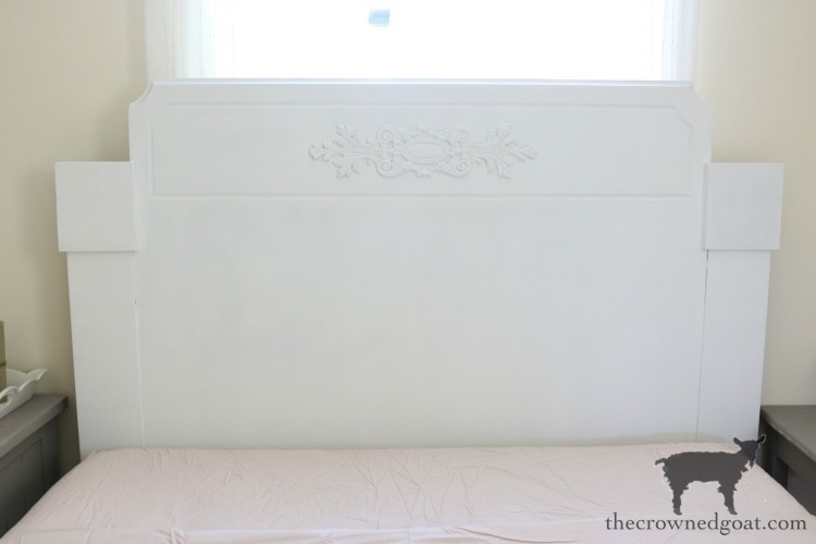 Loblolly-Manor-Headboard-Makeover-The-Crowned-Goat-8 Loblolly Manor: Guest Bedroom Headboard Makeover Decorating Loblolly_Manor Painted Furniture