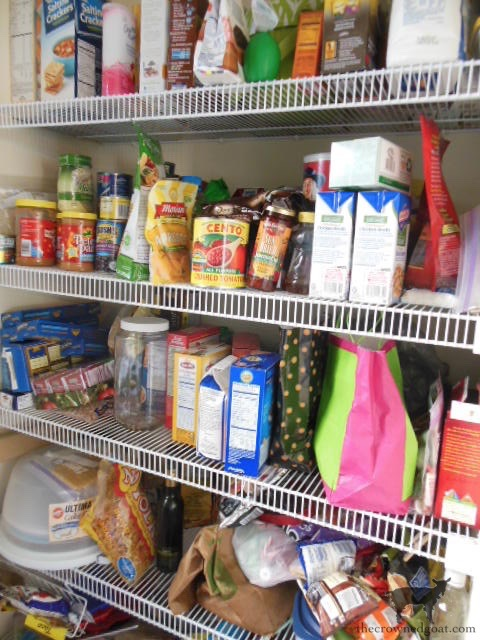 The-Easiest-Way-To-Organize-the-Pantry-and-Refrigerator-The-Crowned-Goat-1 52 Weeks to a Simplified & Organized Home Challenge DIY Organization